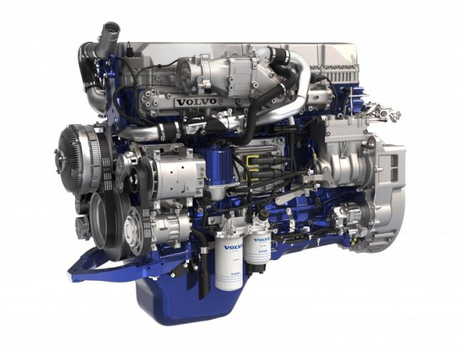 Volvo D11 Engine