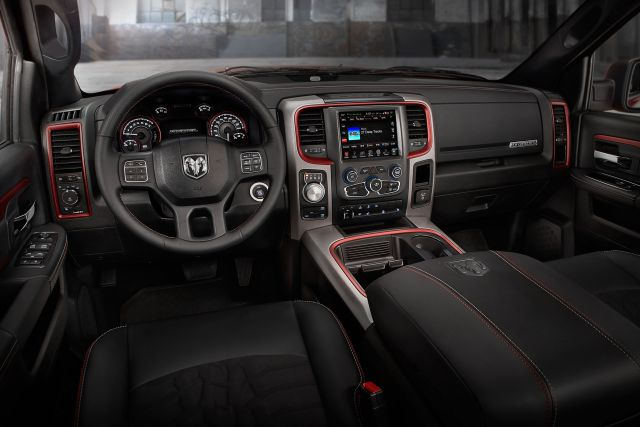 2017 Ram Rebel TRX interior