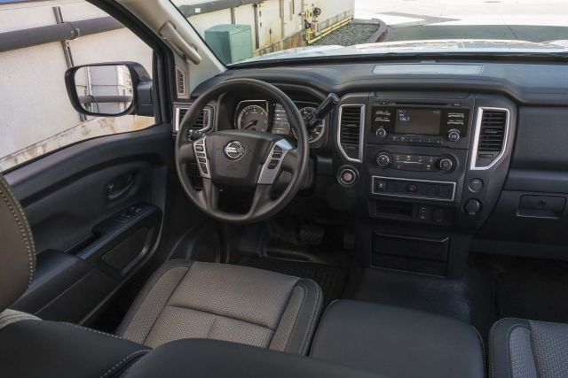 2017 Nissan Titan Single Cab interior