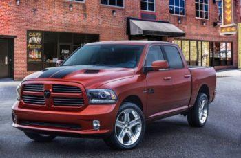 2017 Ram 1500 Copper Sport Pickup front