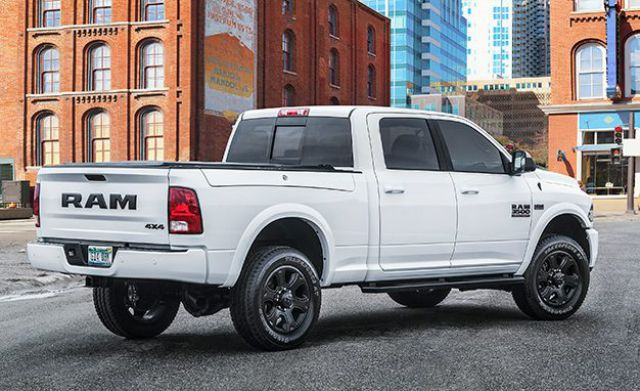 2017 Ram Heavy Duty Night Edition rear
