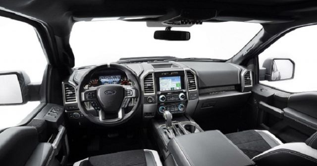 2018 Ford Raptor interior