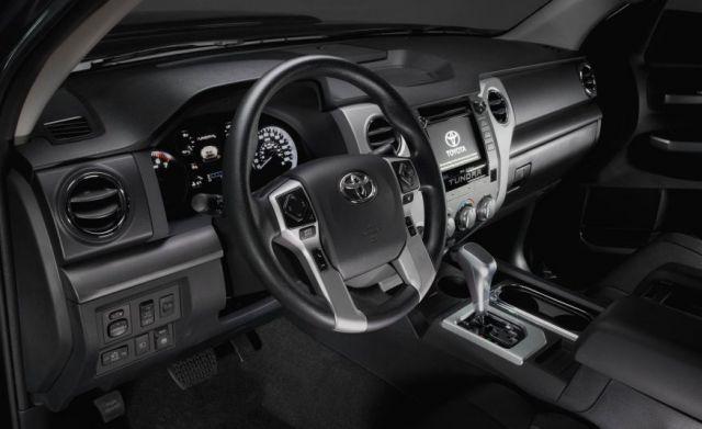 2018 Tundra TRD Sport interior