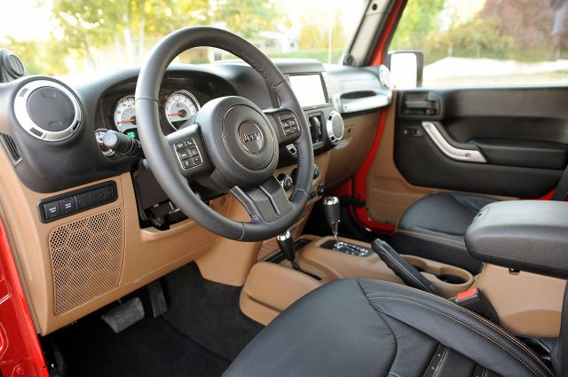 2017 AEV Brute Double Cab interior