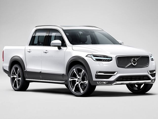 Volvo XC90 Pickup Truck front