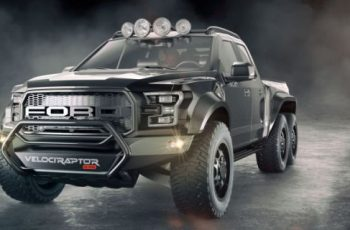 2017 Ford F-150 Raptor Hennessey front view