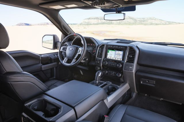 2017 Ford F-150 Raptor Hennessey interior