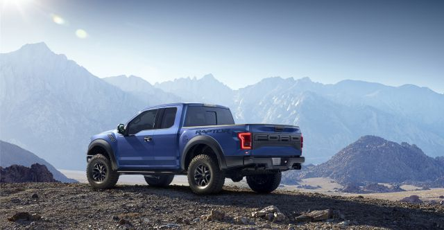 2017 Ford Raptor rear