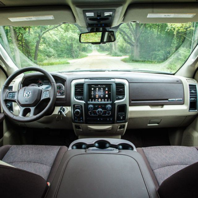 2017 Ram 1500 Lone Star Silver Edition interior