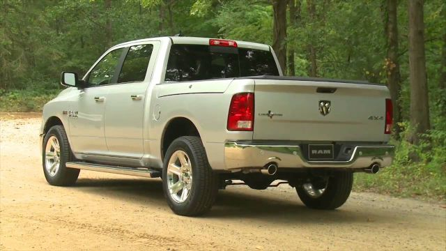 2017 Ram 1500 Lone Star Silver Edition rear
