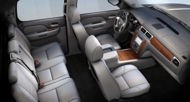 2018 Chevy Avalanche interior