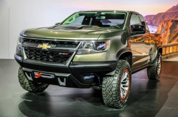 2018 Chevy Colorado ZR2 front