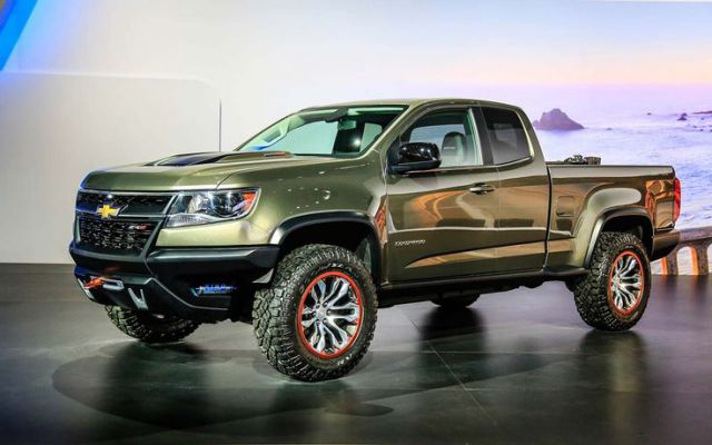 2018 Chevy Colorado ZR2 Off Road Truck