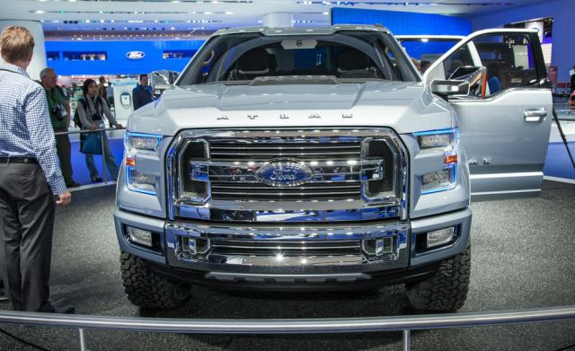 2018 Ford F-150 Atlas front VIEW