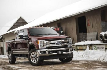 2018 Ford F-350 front