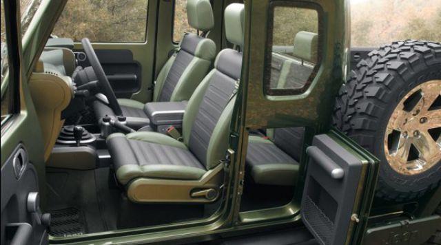 2018 Jeep Gladiator interior