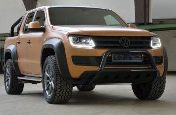 VW Amarok V8 Passion Desert front