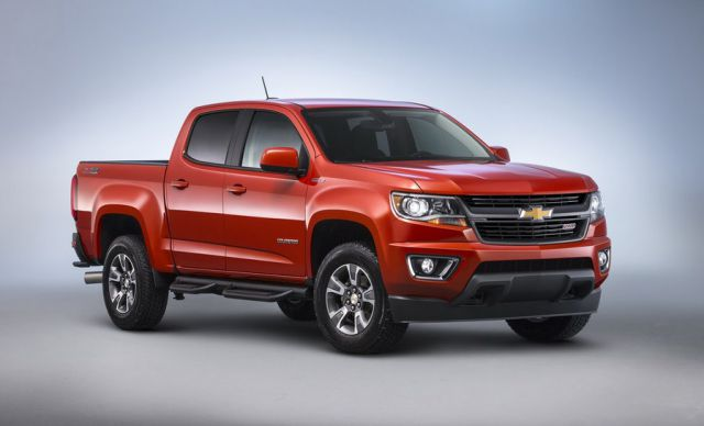 2018 Chevy Colorado front