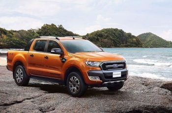 2018 Ford Ranger WildTrak front