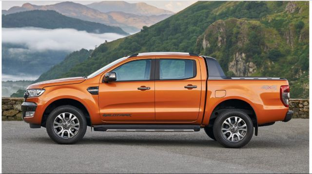 2018 Ford Ranger WildTrak side