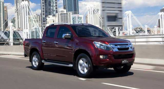 2018 Isuzu D-Max side