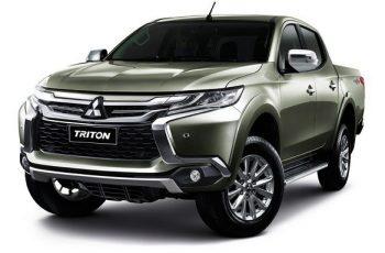 2018 Mitsubishi Triton front