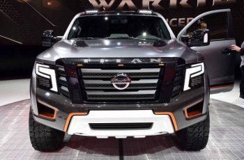 2018 Nissan Titan Warrior front