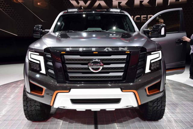 2018 nissan titan warrior concept photos and info 2018 2019 new best trucks. Black Bedroom Furniture Sets. Home Design Ideas