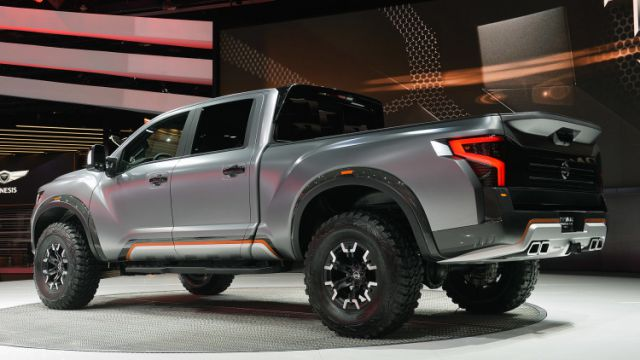 2018 nissan titan warrior concept photos and info new best trucks. Black Bedroom Furniture Sets. Home Design Ideas