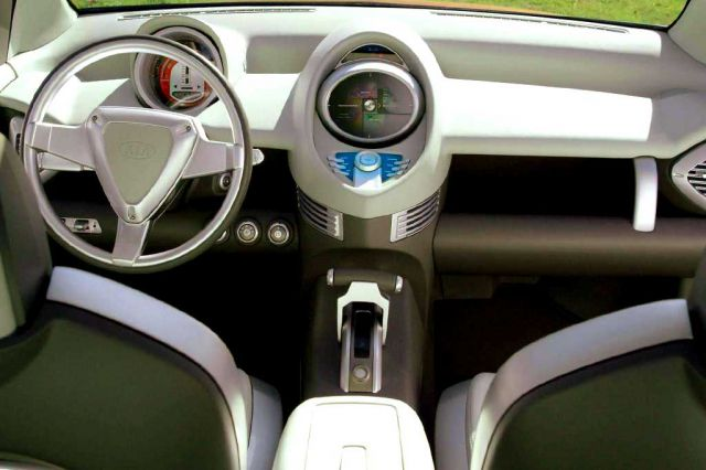 Kia Pickup Truck interior