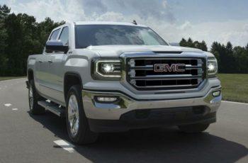 2018 GMC Sierra front