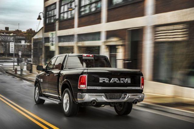 2018 Ram 1500 rear