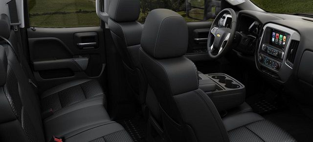 2018 Chevrolet Silverado 3500HD interior