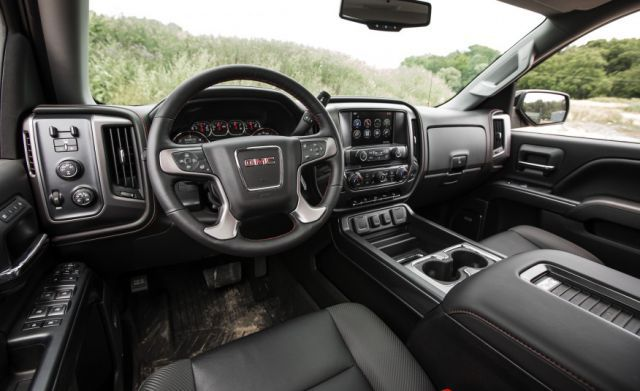 2018 GMC Sierra All Terrain interior