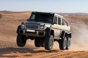 Mercedes 6x6 AMG G63 front VIEW