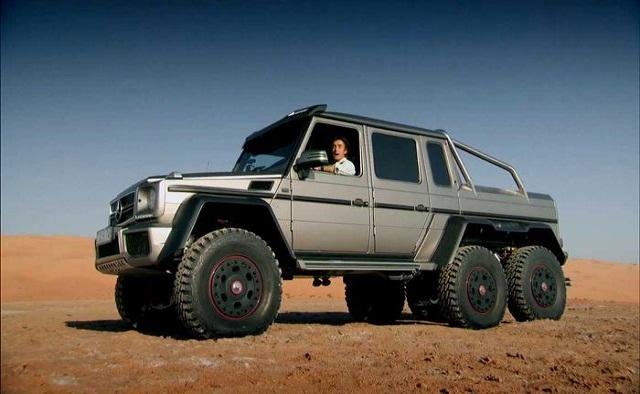 Mercedes 6x6 AMGG63 side