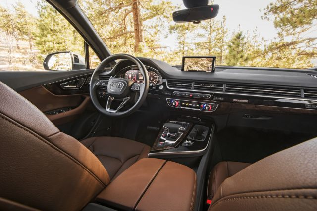 2019 Audi Q7 Pickup Truck interior