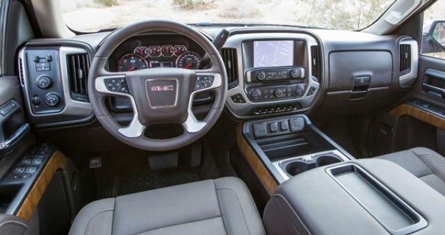 2018 GMC Sierra 2500 interior