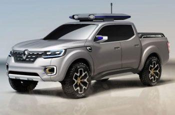 2018 Renault Alaskan front