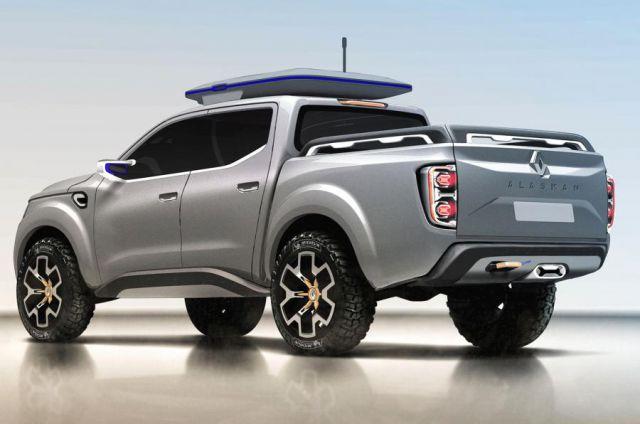 2018 Renault Alaskan rear