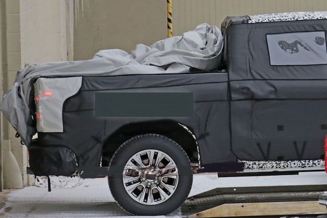 2019 Chevy Silverado 1500 rear