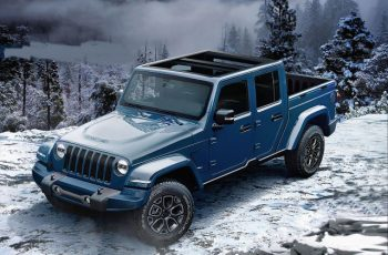 2019 Jeep Wrangler Pickup front
