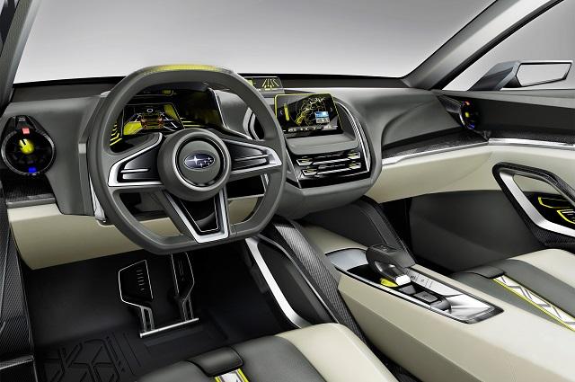 2019 Subaru Pickup Truck Interior