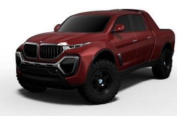 2018 BMW Pickup Truck front