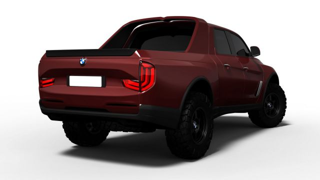 2018 BMW Pickup Truck rear