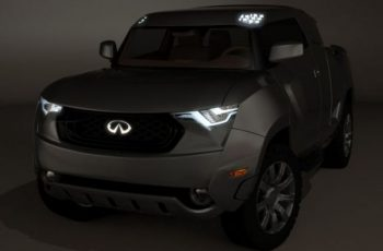 Infiniti Pickup Truck Concept front