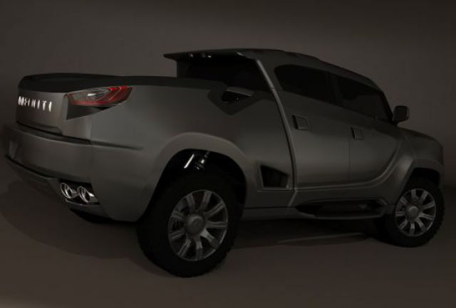 Infiniti Pickup Truck Concept side