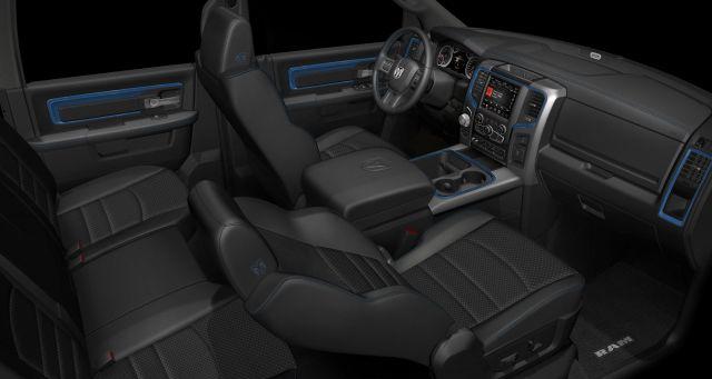 2018 Ram 1500 Hydro Blue Sport Special Edition interior