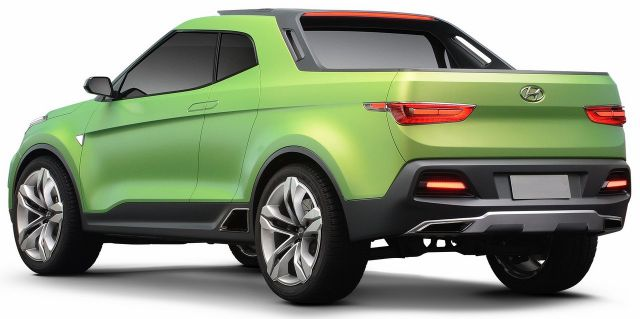 2019 Hyundai Creta pickup tuck rear