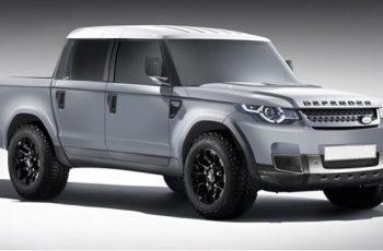 2019 Land Rover Defender Truck front